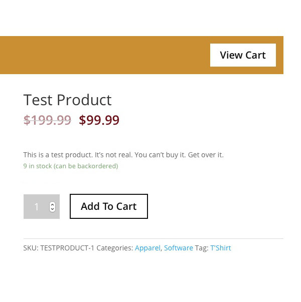 WooCommerce Product Fixes - After