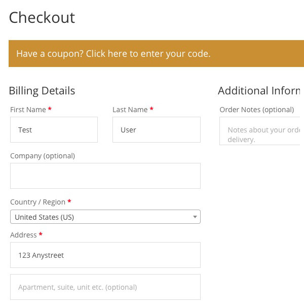 WooCommerce Checkout Fixes - After