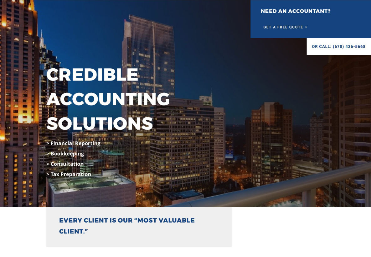 Credible Accounting