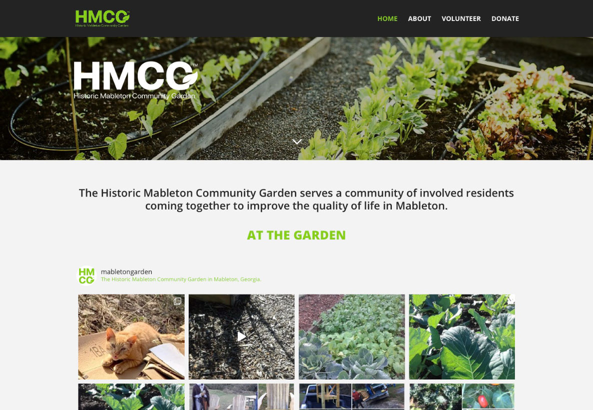 Historic Mableton Community Garden