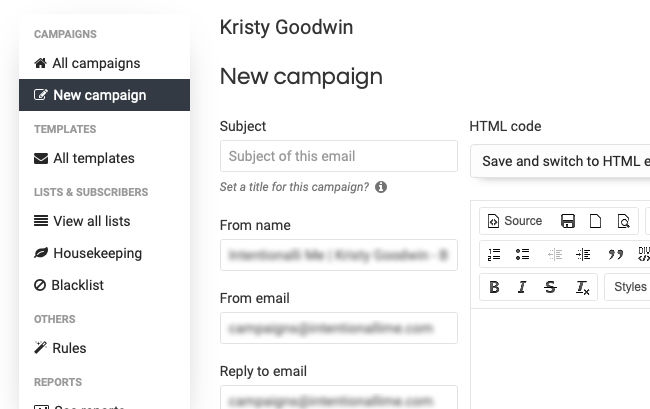 Flawless Email Marketing - New Campaigns